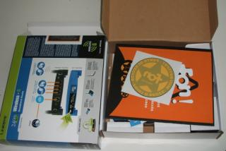 Router gratis (caja)
