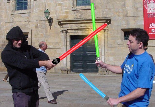Pelea de Jedis