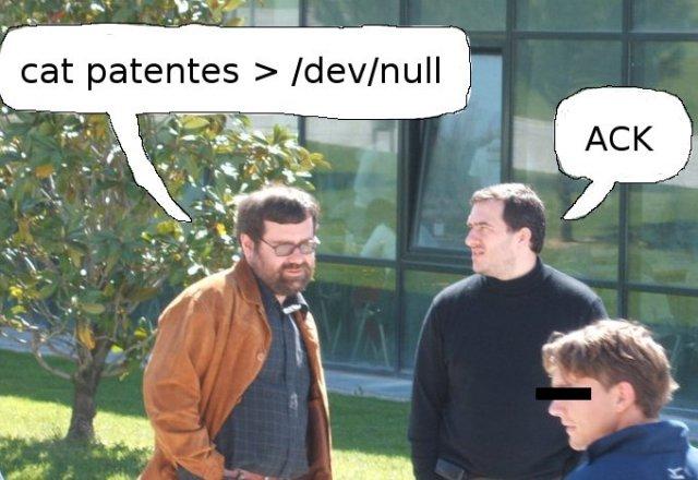No patentes 4
